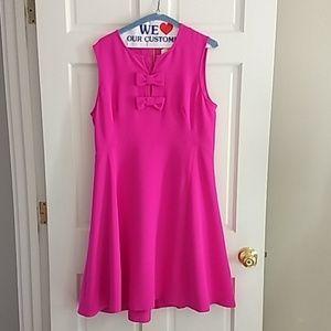 Kate Spade Pink Bow Dress